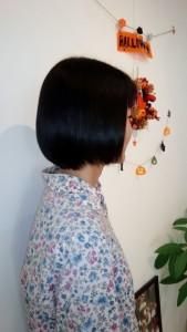 2015/10縮毛矯正リペアボブ