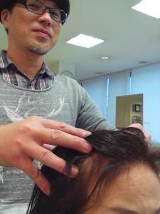 オーガニックホホバオイルを使った頭皮クレンジングマッサージ