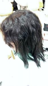 縮毛矯正リペアbefore2