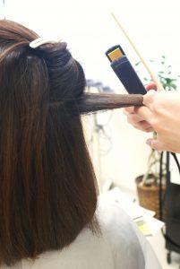 縮毛矯正リペアアイロン