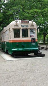 懐かしのチンチン電車